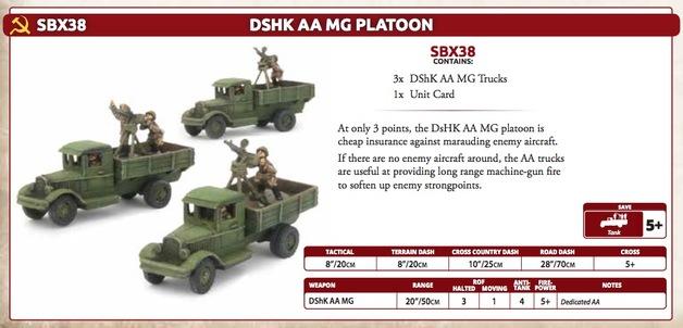 DSHK AA Platoon