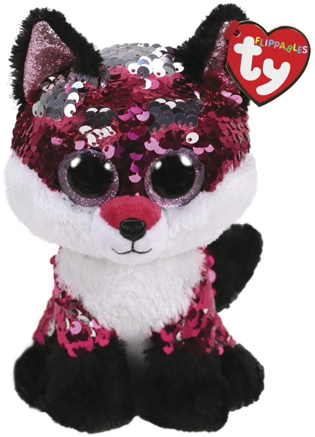 TY Beanie Boo: Flip Jewel Fox - Small Plush image