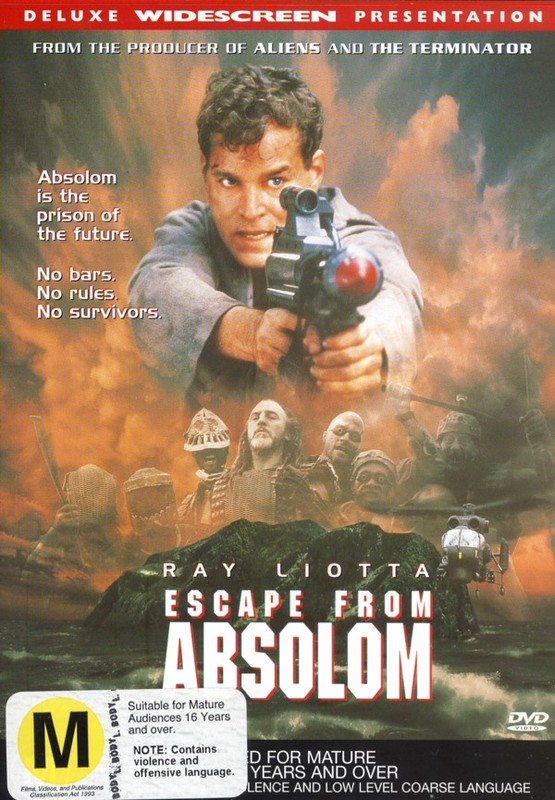 Escape From Absolom on DVD