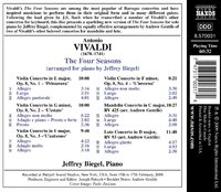 an analysis of antonia vivaldis piece the four seasons Vivaldi's opus 8 was first published in 1725 by the le cene firm it is a collection of twelve concertos, which are split into two volumes of six, and was written for the count of morzin four seasons was extremely popular because a trend started fr italian instrumental music.