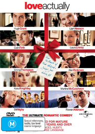 Love Actually DVD image