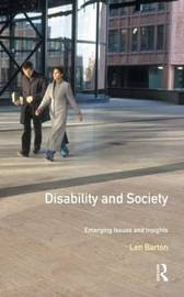 Disability and Society by Len Barton image
