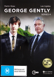 Inspector George Gently - Series 4 on DVD