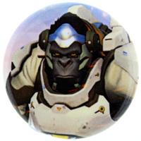 Overwatch Button - Winston