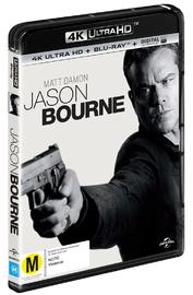 Jason Bourne on Blu-ray, UHD Blu-ray, UV image