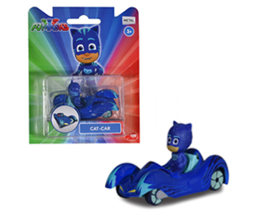 PJ Masks: Die-Cast Mini-Vehicle - Cat-Boy image