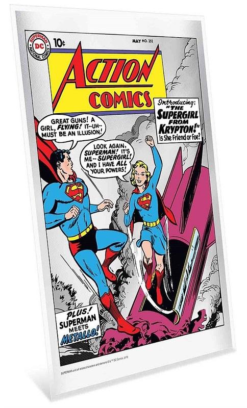 NZ Mint: DC Comics - Pure Silver Foil - Action Comics #252 (35g)