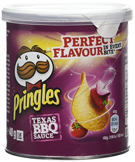 Pringles Grab & Go Small Barbecue 40g (12 Pack) image