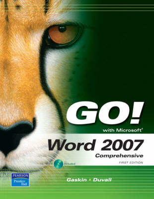 Go! with Word 2007: Comprehensive: Comprehensive by Annette Duvall image