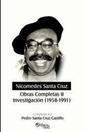 Nicomedes Santa Cruz. Obras Completas II. Investigacion (1958-1991) by Nicomedes Santa Cruz image