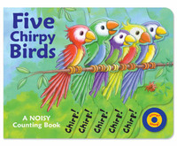 Five Chirpy Birds by Susie Brooks