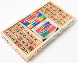 Melissa & Doug: Alphabet Stamp Set