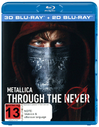 Metallica: Through The Never (3D Blu-ray / Blu-ray) DVD