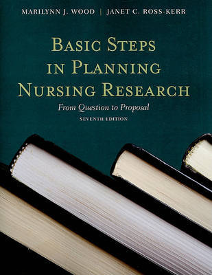 Basic Steps In Planning Nursing Research: From Question To Proposal by Marilynn J Wood image