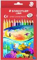 Staedtler - LUNA Jumbo Coloured Pencils - Pack of 12