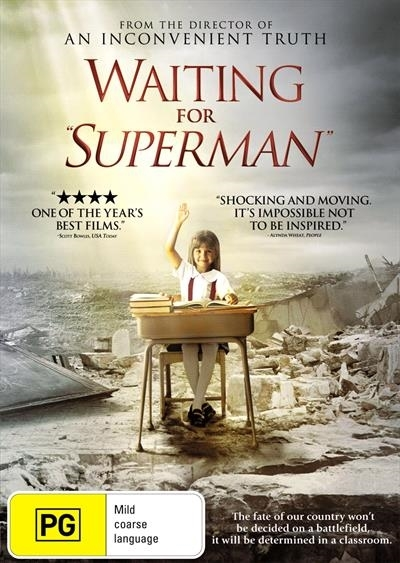 Waiting for Superman on DVD image