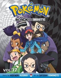 Pokemon Black & White: 17 by Hidenori Kusaka