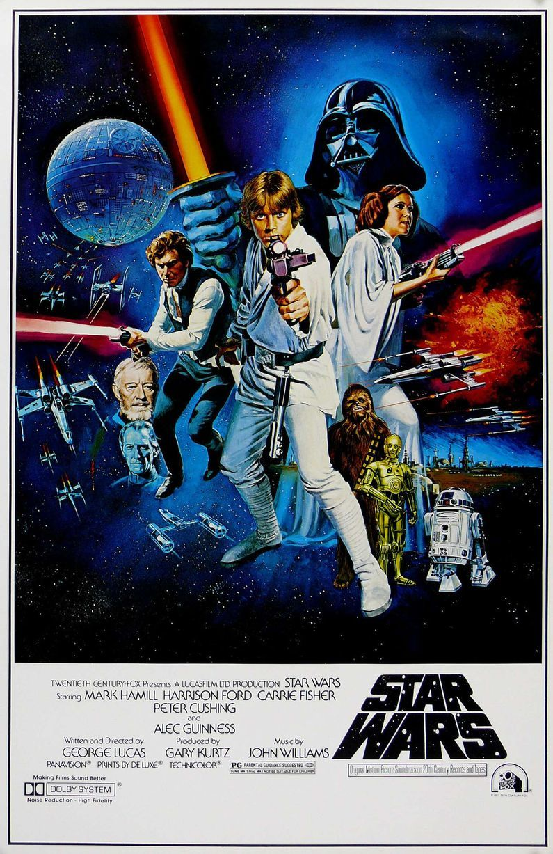 Retro Star Wars Wall Poster (27) image