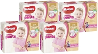 Huggies Ultimate Nappy Pants Bulk Shipper - Toddler Girl 10-15kgs (124)