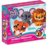 PlushCraft: 3D Zoo Animals Minis Craft Kit