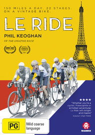 Le Ride on DVD