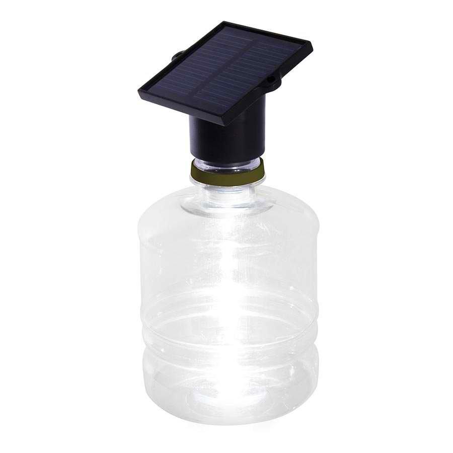 Solar Powered Bottle Light image