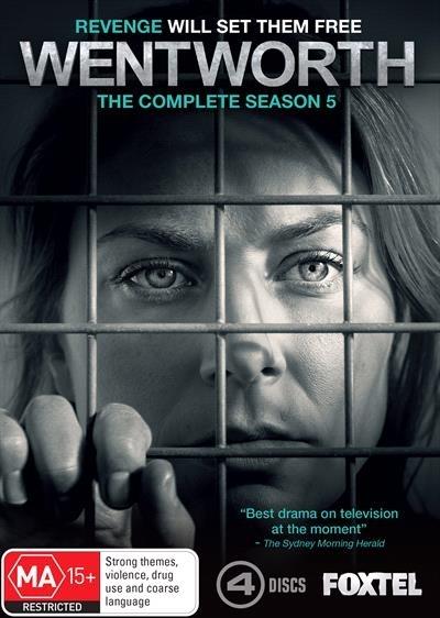 Wentworth - Season 5 on DVD