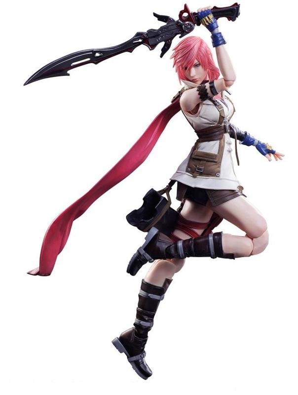 Final Fantasy: Lightning (Dissidia Ver.) - Play Arts Kai Figure