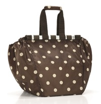 Reisenthel: Easy Shopping Bag - Mocha Dots