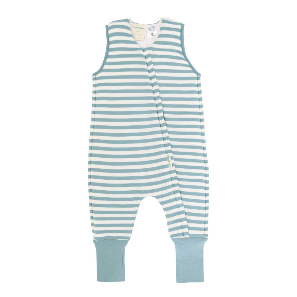 Woolbabe: Duvet Sleeping Suit - Tide (2 Years) image