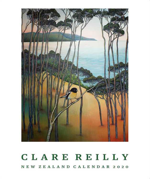 Claire Reilly 2020 Wall Calendar