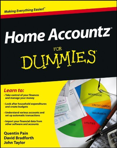Home Accountz For Dummies by Quentin Pain