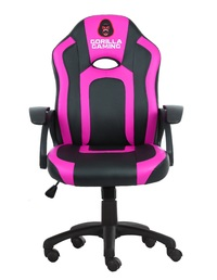 Gorilla Gaming Little Monkey Chair - Pink & Black for