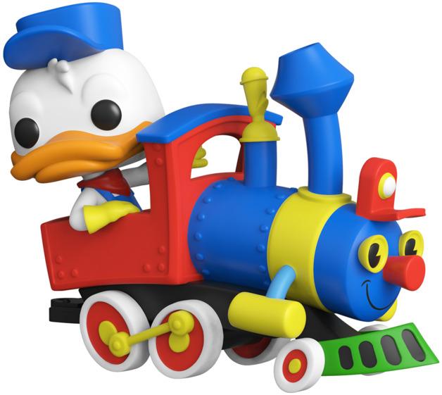 Disneyland: Donald in Train Engine - Pop! Vinyl Figure