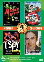 Comedy Collection Volume Two - 4 Movie Box Set (2 Discs) on DVD