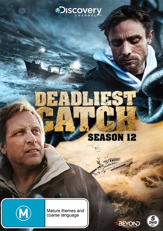 Deadliest Catch: Season 12 on DVD
