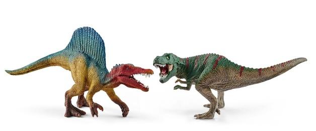 Schleich: Spinosaurus & T-Rex - Small