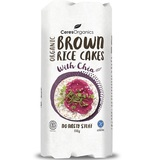 Ceres Organics Brown Rice Cakes With Chia (110g)