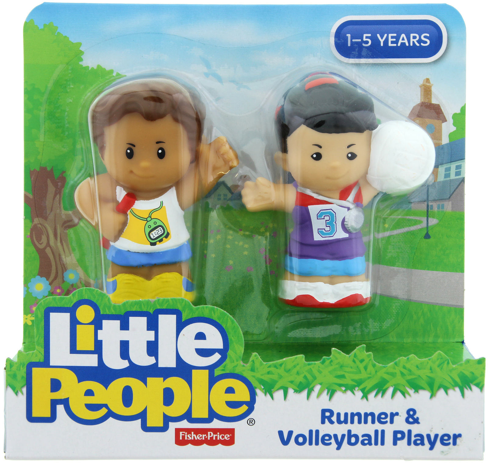 Fisher-Price: Little People - Runner & Volleyball Player image