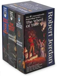 Wheel of Time Boxed Set Volume 1 (Books 1-3) by Robert Jordan
