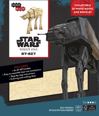 Incredibuilds: Star Wars: Rogue One: At-ACT 3D Wood Model and Book by Kogge Michael
