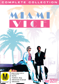 Miami Vice Collection on DVD