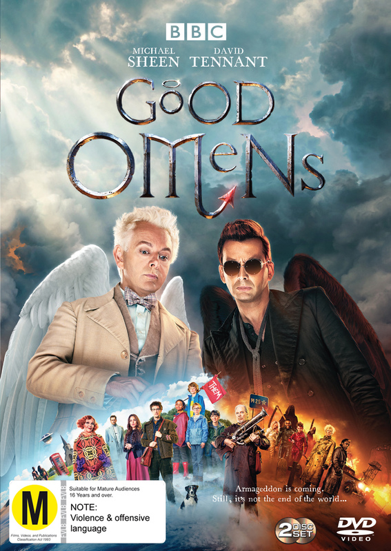 Good Omens on DVD