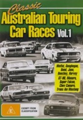 Classic Australian Touring Car Races - Vol. 1 on DVD
