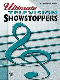 Ultimate Showstoppers Television: Piano/Vocal/Chords image
