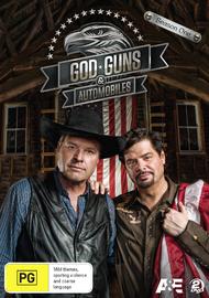 God, Guns & Automobiles - Season One on DVD