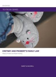 Cretney and Probert's Family Law by Rebecca Probert