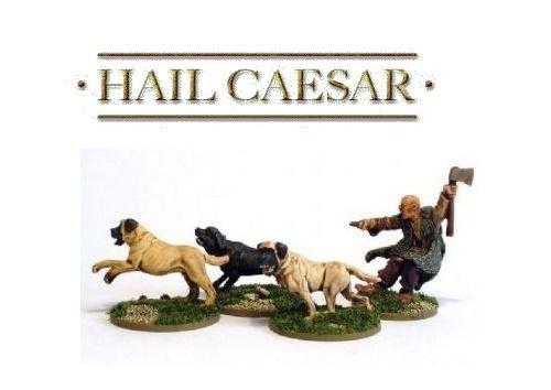 Hail Caesar: Celtic Mastiff Pack (4pc)