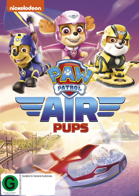Paw Patrol - Air Pups! | DVD | In-Stock - Buy Now | at