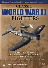 Classic World War Two Fighters on DVD image